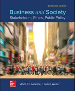 Solution Manual for Business and Society: Stakeholders