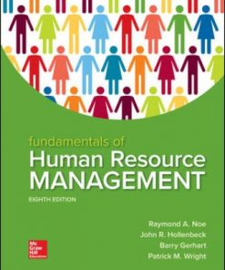 Solution Manual for Fundamentals of Human Resource Management 8th Edition Noe ISBN: 9781260079173