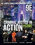 Test Bank for Criminal Justice in Action 9th Edition Gaines ISBN: 9781337092142