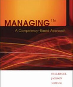 Test Bank for Managing: A Competency-Based Approach 11th Edition Hellriegel ISBN: 9780324421408