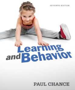 Test Bank for Learning and Behavior 7th Edition Chance ISBN: 9781111832773