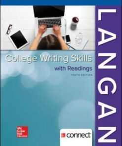 Test Bank for College Writing Skills with Readings 10th Edition Langan ISBN13: 9781259680939