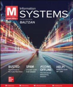 Solution Manual for M: Information Systems 6th Edition Baltzan ISBN: 9781260727821