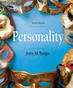 Test Bank for Personality 10th Edition Burger ISBN: 9781337559010