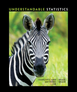 Test Bank for Understandable Statistics 12th Edition Brase ISBN: 9781337119917