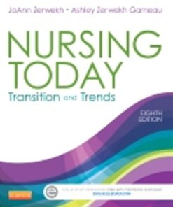 Test Bank for Nursing Today Transition and Trends 8th Edition Zerwekh ISBN: 9781455732036